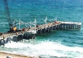 Pompano Beach Pier Construction
