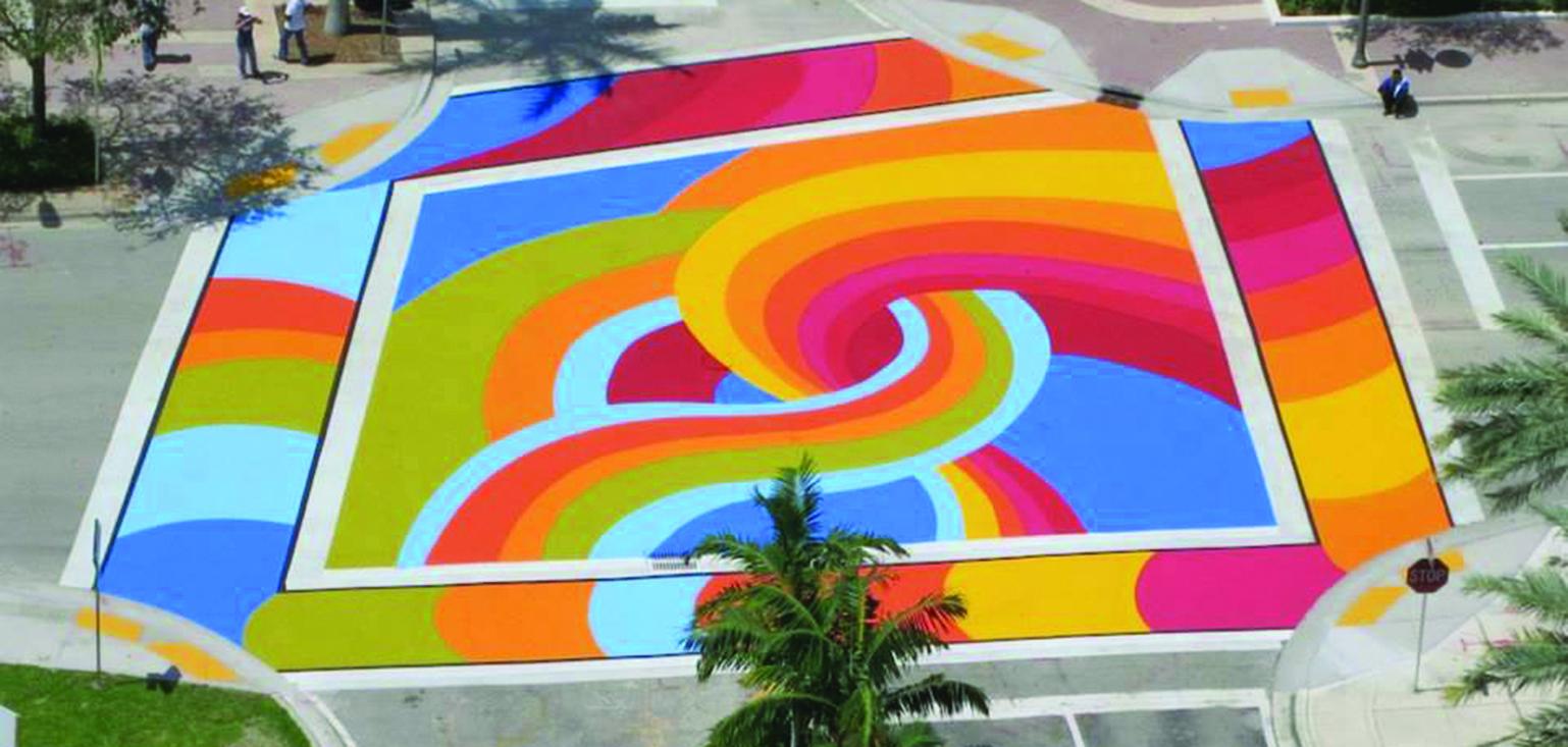 existing Public Art project in Pompano Beach