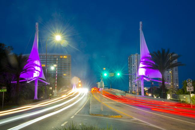 Pompano Beach Atlantic Blvd. Bridge Opening 6-26-19 Photo by Jeff Graves