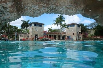 Venetian Pool in Coral Gables.