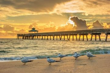 Pier-and-Beach-at-Deerfield-Beach-Florida