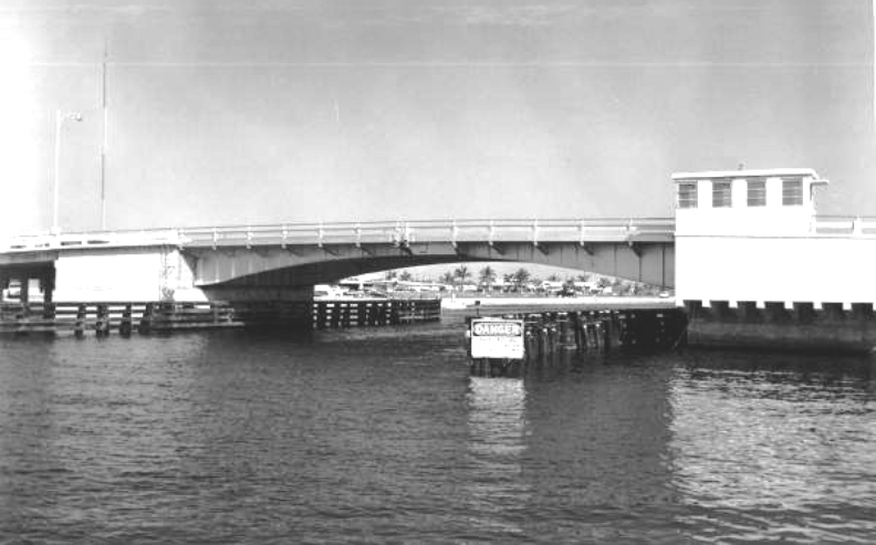 ATLANTIC BLVD. BRIDGE HISTORY- built in 1955. This picture was taken in 1959.