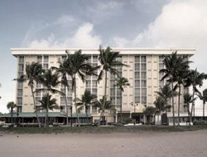 The old Howard Johnson hotel