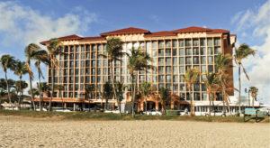 The Wyndham Hotel on Deerfield Beach