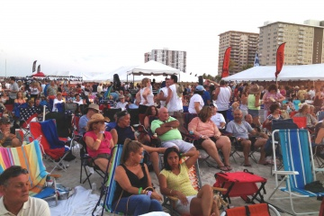 Pompano Beach Seafood Festival when it was on the beach.