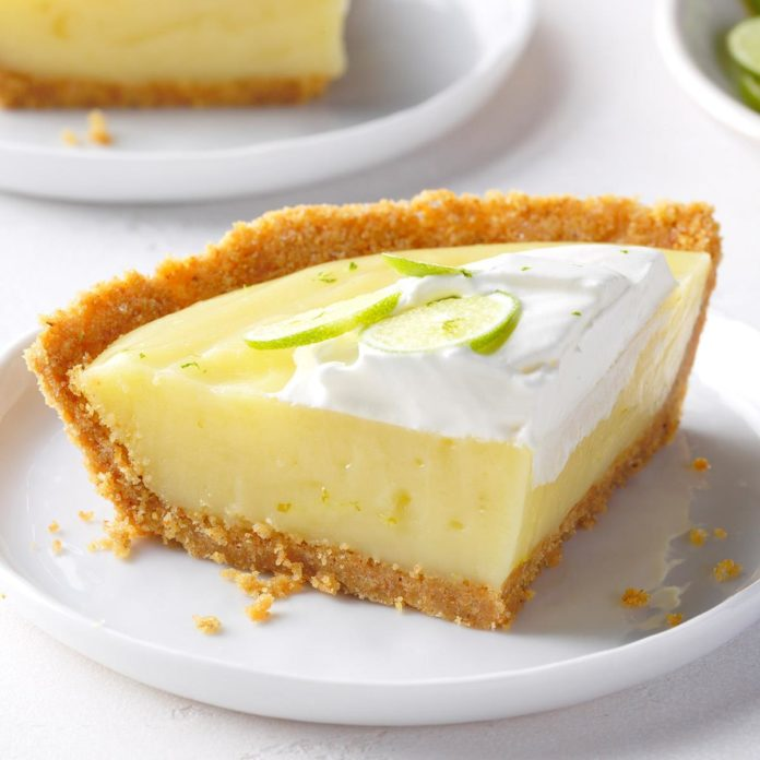 The Beach House restaurant in Pompano Beach has the best key lime pie in South Florida