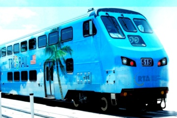 Car crashes into Tri-Rail Train in Pompano Beach; one dead