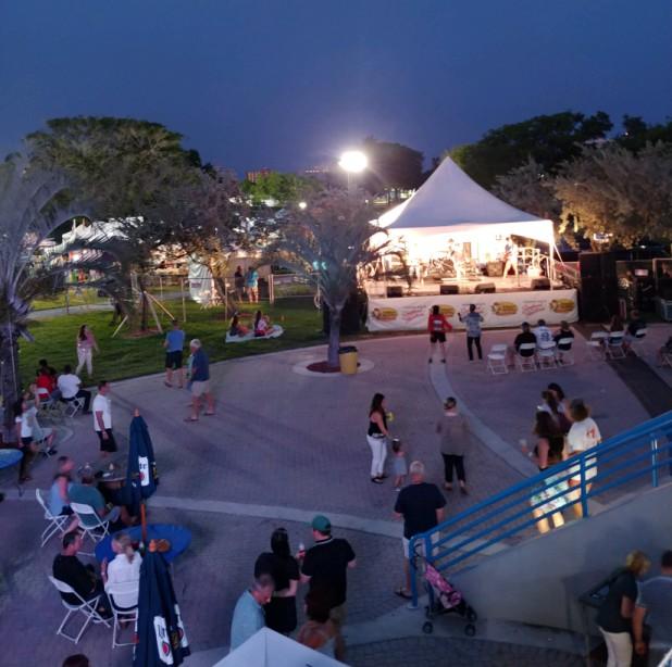 fun at the Pompano Beach Seafood Festival 2019