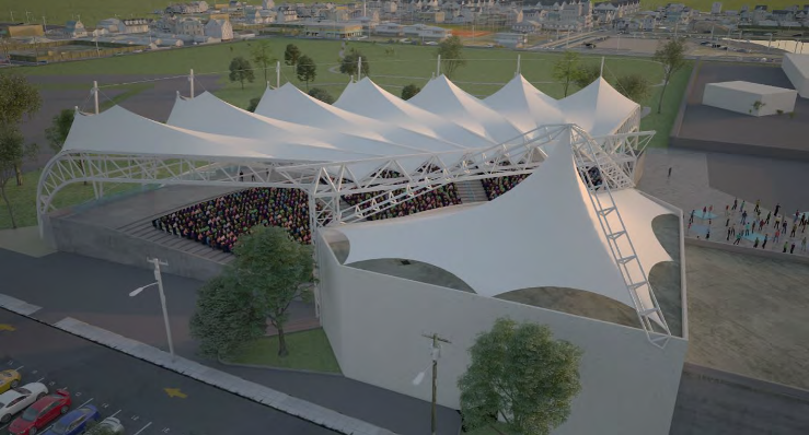 Exclusive Pictures Changes To Pompano Beach Amphitheater