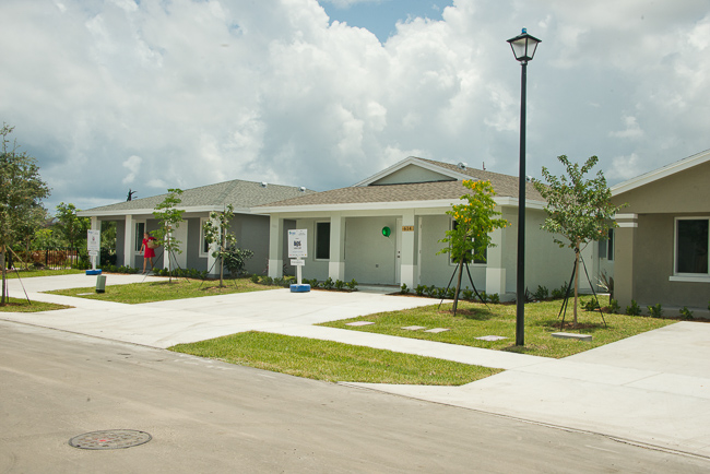 Broward County Habitat for Humanity House in Pompano Beach/Photo by Jeff Graves