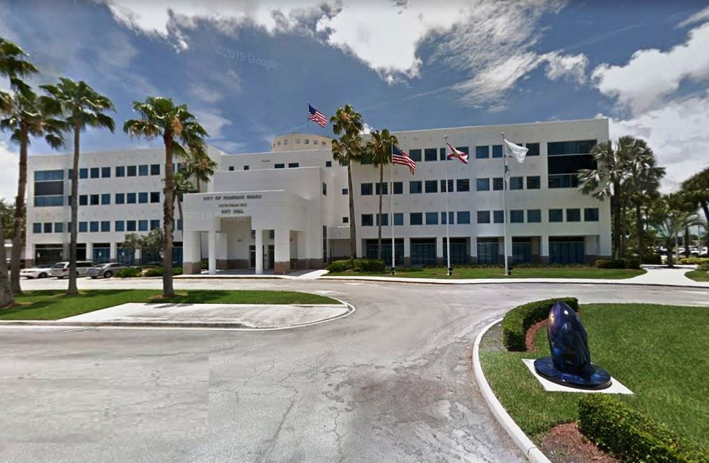 Pompano Beach City Hall courtesy-Google