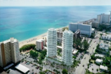 PROPOSED OCEAN PARK BEACH RESIDENCES A1A Pompano Beach Real Estate Construction