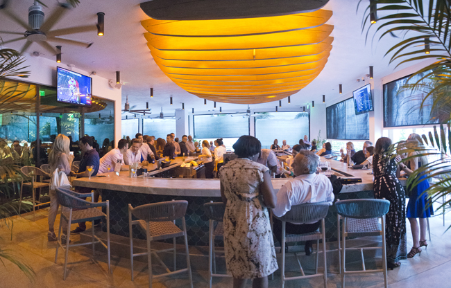 Pompano Beach Oceanic Restaurant grand opening. New restaurants in Pompano Beach