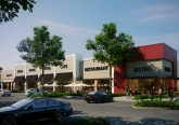 Pompano Beach Real Estate and Redevelopment: Citi Centre in Pompano Beach is adding several new stores and restaurants. The photo above shows what the replacement building for the Sears Auto Center will look like. Courtesy photo