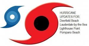 Hurricane Dorian Pompano Beach, Deerfield Beach, Lighthouse Point, Lauderdale-by-the-Sea Tropical Storm Update