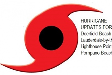 Hurricane Dorian Tropical Storm Update Pompano Beach, Deerfield Beach, Lighthouse Point, Lauderdale-by-the-Sea
