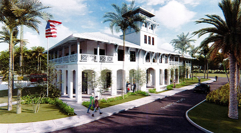 LIGHTHOUSE POINT FIRE STATION-DESIGN CONCEPT-1