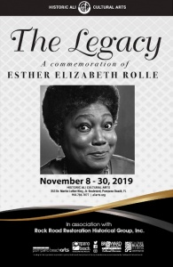 Esther Rolle Pompano Beach Hometown Star