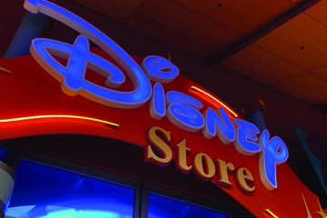 Shopping at Disney